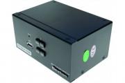DEXLAN KVM 2 ports double écran HDMI 4K / USB 2.0 + câbles