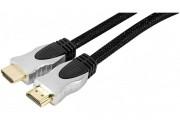 Cordon HDMI haute vitesse avec ethernet HQ  - 1,00M