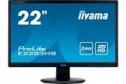 IIYAMA moniteur E2283HS-B5 VGA/HDMI/Displayport + HP - 22''