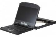 """ATEN CL3800NX CONSOLE LCD 18,5"""" DOUBLE RAIL HDMI 720p-DVI-VGA/USB"""