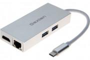 DEXLAN ADAPTATEUR USB 3.1 Type-C GIGABIT + HDMI + HUB